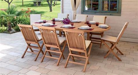 mobili da giardino in teak tavoli giardino teak tavoli modelli di tavoli da