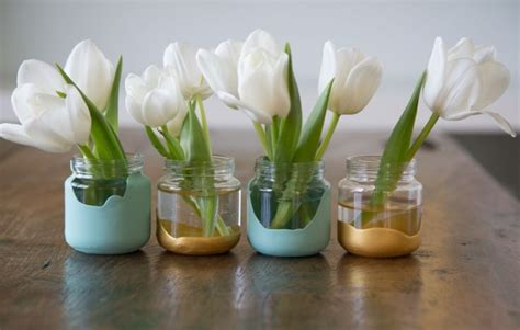 Baby Vases by 27 Adorable Ways To Reuse Baby Food Jars Home Designing