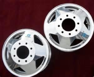 Alcoa Truck Alloy Wheels Alcoa Lts Dually Alloy Wheels 16 Quot Front Gm Chevy Gmc 3500