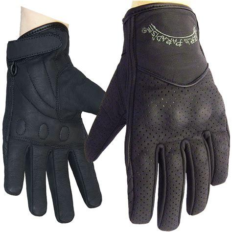 womens motocross gloves women s cruiser leather gloves by bikers paradise