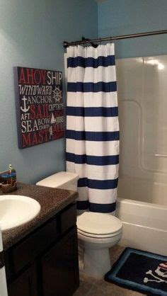 distinguished nautical bathroom decor decorating nautical release the kraken bathroom redo home sweet home