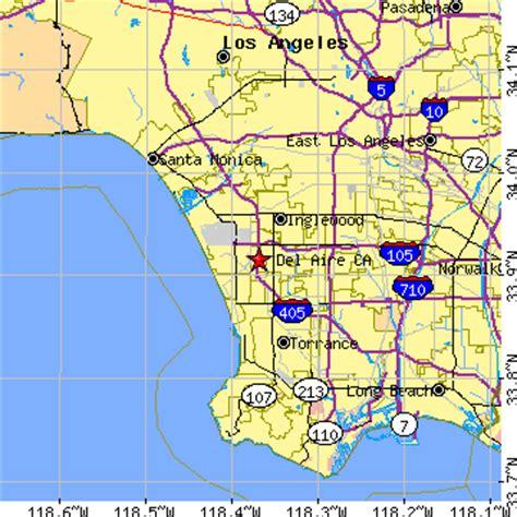 zip code map gardena ca del aire california ca population data races