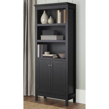 5 shelf bookcase with doors 10 burlington 5 shelf bookcase with doors