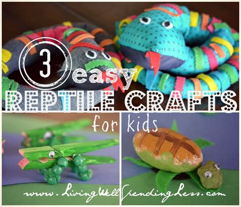 reptile crafts for 3 easy reptile crafts for necktie snake craft