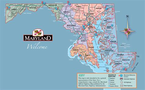 Maryland Finder Map Of Eastern Shore Md Map Of Welcome Center Maryland My Maryland