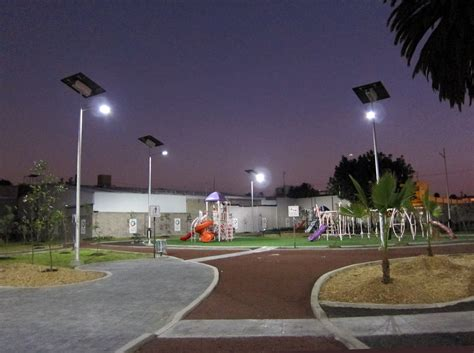 Outdoor Lighting Business Inaugural Opening Of Sustainable Park In Mexico City