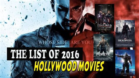 film kolosal hollywood 2016 watch the list of 2016 hollywood movies new youtube