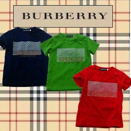 Burberry Kemeja Baju retail borong baju kanak kanak branded clearance stock gucci boy
