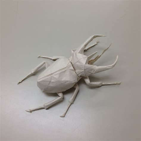 Origami Beetle - this week in origami july 2 2015 edition