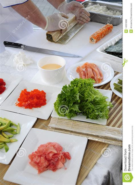 Sushi For The Time Essay by Sushi Royalty Free Stock Photos Image 14331898