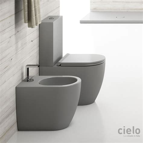 design wc colored monoblock toilets designer wc ceramica cielo