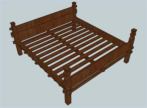 viking bed viking slat bed based on the oseberg and gokstad beds sca