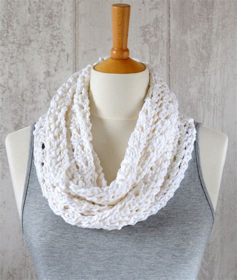 easy infinity scarf knitting pattern knitting pattern lace scarf simple knit pattern infinity scarf