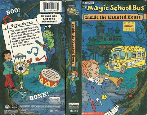 magic school bus haunted house vhs wasteland your home for high resolution scans of rare strange and forgotten vhs