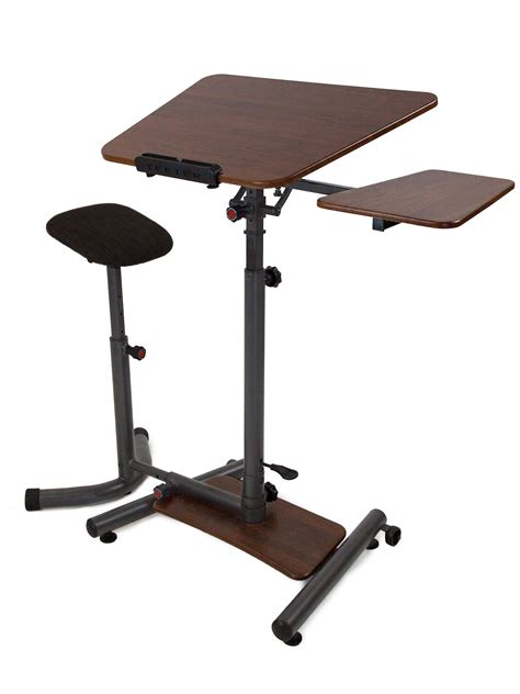 stand for desk sit stand desk height adjustable standing desk teeter com