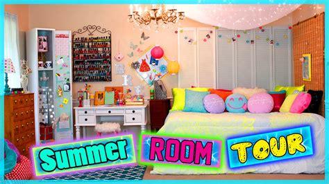 summer room tour diy room decor ideas