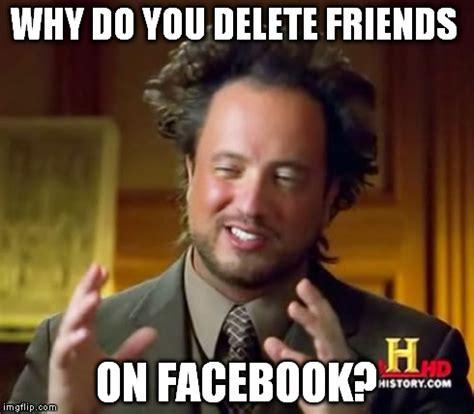 Friends Memes Facebook - ancient aliens meme imgflip