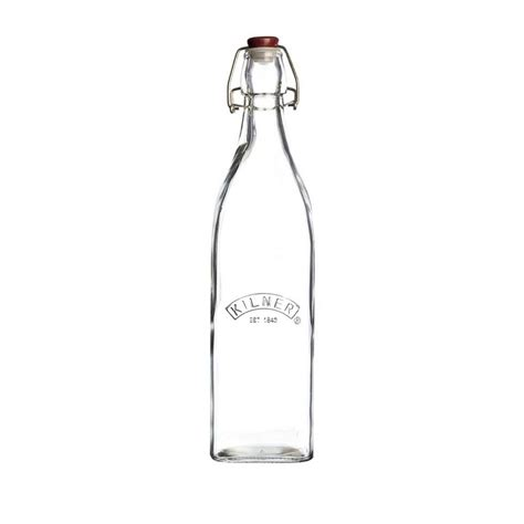 1 liter swing top bottles kilner swing top bottle 1 litre love tiki barware products