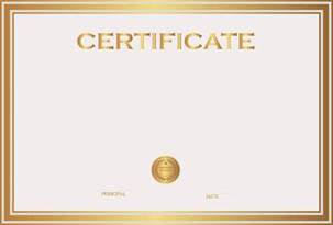 Free Certificate Template by Certificate Template Png Transparent Images Png All