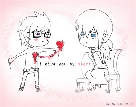 i give you my i give you my by superddy on deviantart