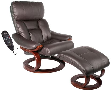 massaging recliner chair with heat comfort vantin deluxe massaging recliner and ottoman