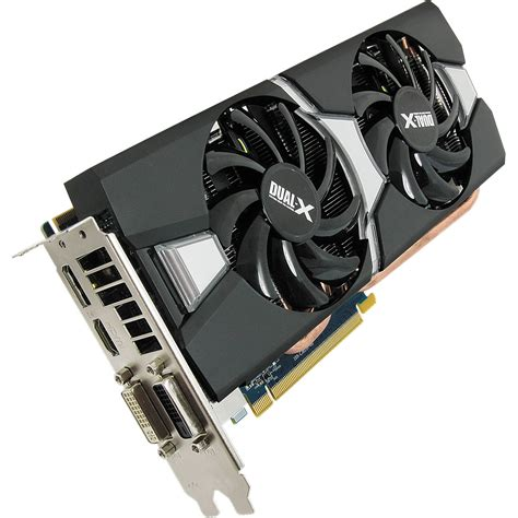 Graphic Card Radeon sapphire radeon r9 280x graphics card 870mhz 11221 00 20g b h