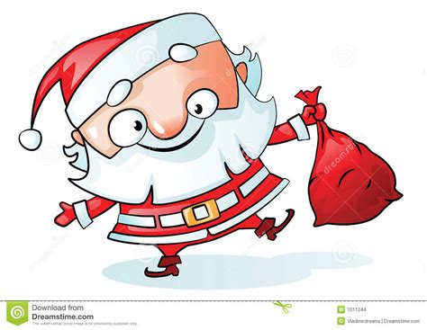 funny santa vector stock images image