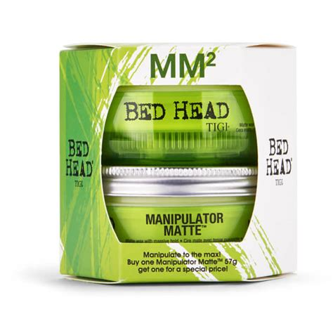 bed head wax tigi bed head manipulator matte wax duo 2 x 57g free