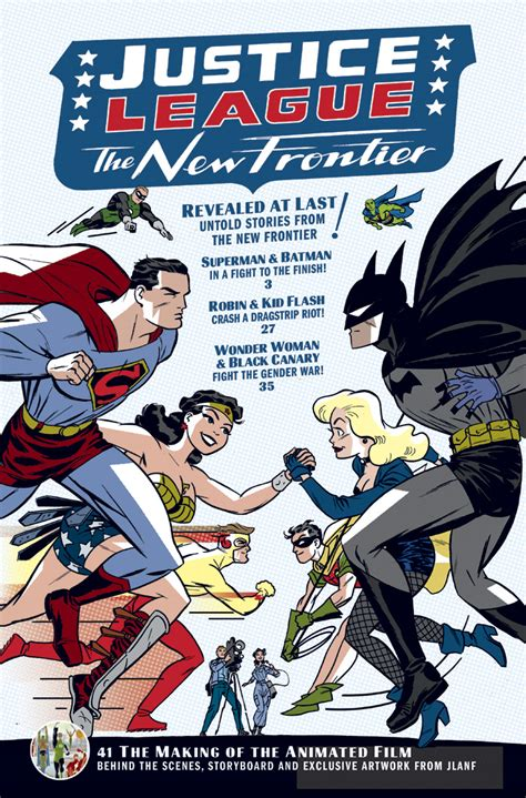 movie justice league the new frontier darwyn cooke creator of justice league the new frontier
