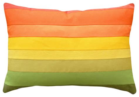 Pillow Colors colorful decorative pillows ombre colors modern