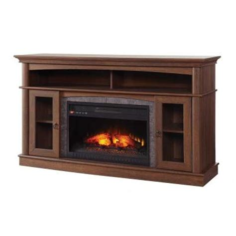 Home Depot Electric Fireplace Media Console by Home Decorators Collection Ashurst 46 In Media Console