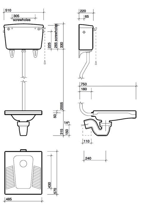 Squat Type Water Closet by Twyford Nile Squatting Wc Pan Wc3390wh