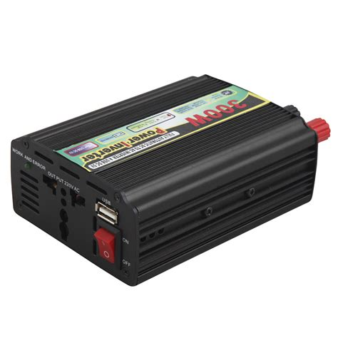 300w power inverter signle 110v ac outlets car power