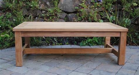 large teak coffee table large rectangle coffee table paradise teak