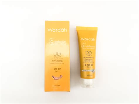 Harga Wardah Dd Shade Light review wardah c defense dd energizing