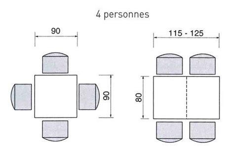 dimension table a manger cuisine ou salle 224 manger quel espace pr 233 voir pour une
