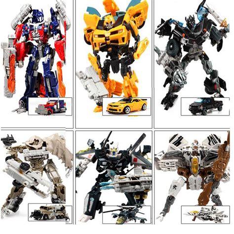 Mainan Figure Set M8m29652 2017 new 4 transformation robot cars toys cool figures model classic toys anime boy