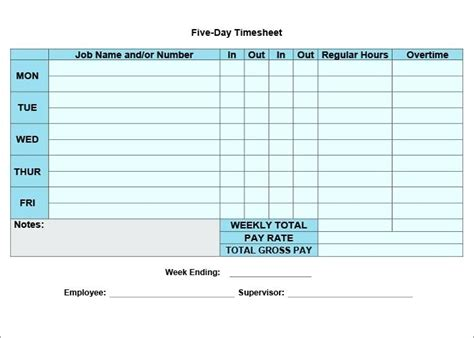 Excel Timesheet Templates Weekly Template Free Excel Timesheet Formula With Lunch Break Free Excel Timesheet Template With Formulas