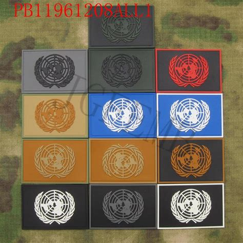 Rubber Patch Un United Nations pvc flag promotion shop for promotional pvc flag on