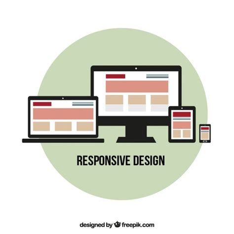 responsive layout free download responsive web design vector free download