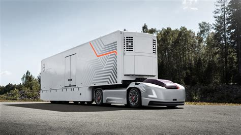 where are volvo trucks made volvo s made a self driving truck called vera top gear