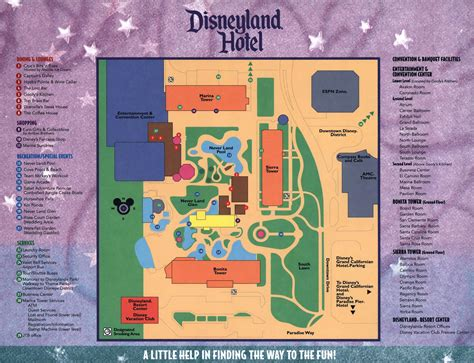 Disney Saratoga Springs Floor Plan by Resort Maps Magical Distractions
