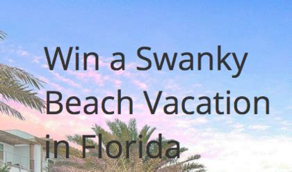 Florida Sweepstakes - you are officially entered to win sun sweeps