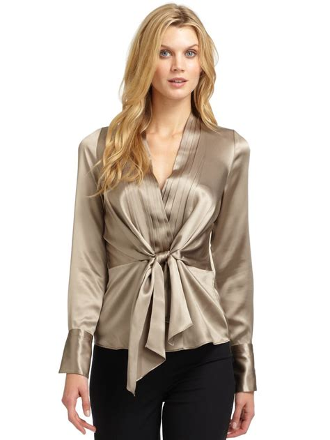 New Tiramisu Top Tunik Blouse T1310 3 444 blusas de cetim a collection of ideas to try about other ralph satin and hart