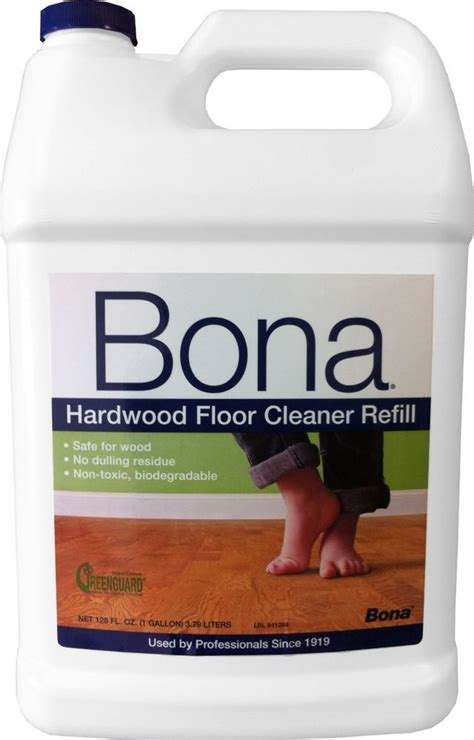 bona hardwood floor cleaner refill 128 ounce ebay