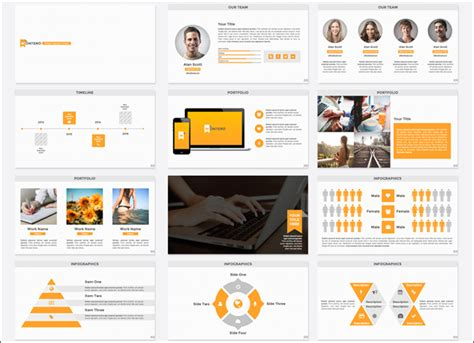 keynote brochure template 15 keynote business templates free design models