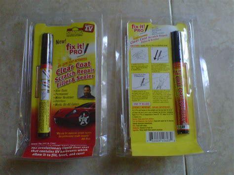 Fix It Pro Penghilang Goreslecet Pada Kendaraan bebegug6 fix it pro spidol penghilang baret mobil diskon habis habisan