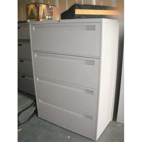 4 Drawer Lockable Filing Cabinet by 4 Drawer Lateral File Cabinet Grey Hanging Locking