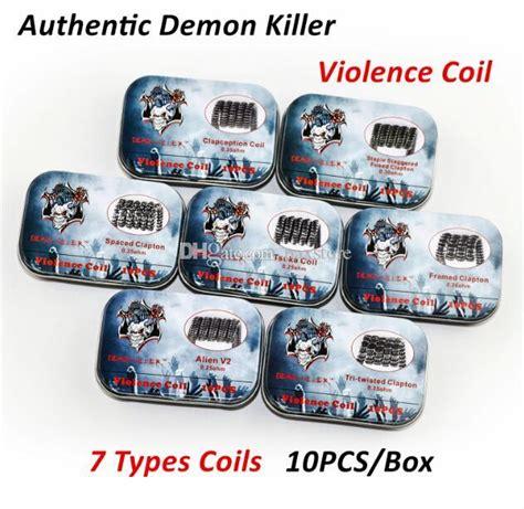 Exclusive Authentic Prebuilt Killer Tsuka Coil 1 Box Termurah newest killer violence coil prebuilt framed clapton v2 clapception coil spaced