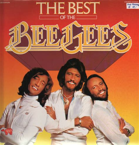 best of the beegees the best of bee gees bee gees lp rso